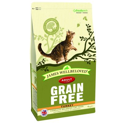 James Wellbeloved Cat Grain Free Turkey - 4 kg
