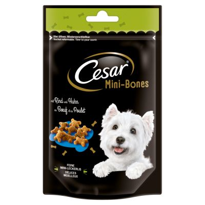 Cesar Mini Snacks - Mini joys, juusto & kana (100 g)