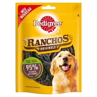 Pedigree Ranchos Originals 70 g - 7 x lammas