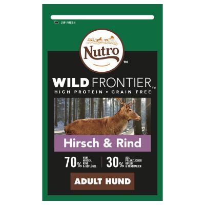 Nutro Wild Frontier Adult hirvi ja nauta - 1,5 kg