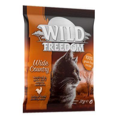 "3 x 50 g Wild Freedom Adult ""Wide Country"" - Geflügel zum Sonderpreis"