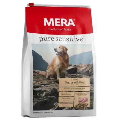 MERA Pure Sensitive Senior Turkey & Rice - 12,5 kg