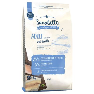Sanabelle Adult with Trout - 2 x 2 kg