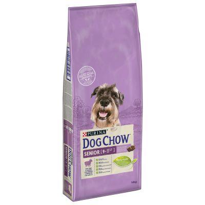 Purina Dog Chow Senior con cordero - 14 kg