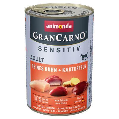 Image of Animonda GranCarno Adult Monoprotein Mixpaket 6 x 400 g - Mix Huhn