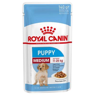 Royal Canin Medium Puppy - 20 x 140 g
