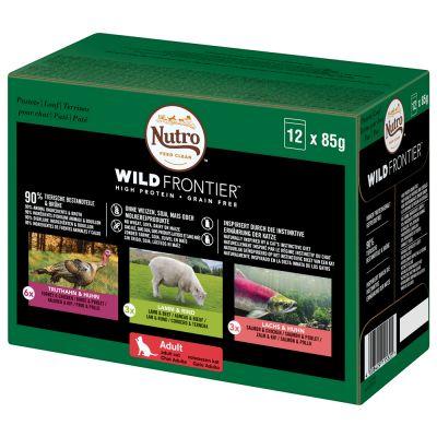 Nutro Wild Frontier -mix - 12 x 85 g