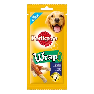 Pedigree Wrap – 12 x 40 g