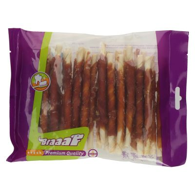 Braaaf palitos con pato para perros - 280 g (12,5 cm)