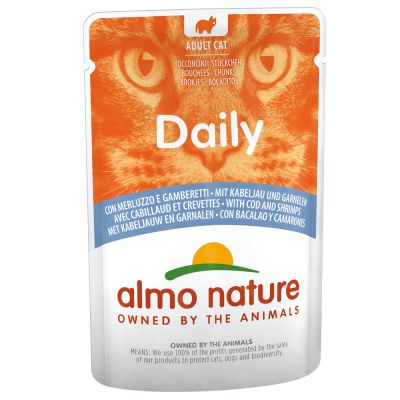 Multipack Almo Nature Daily Menu Pouch 12 x 70 g