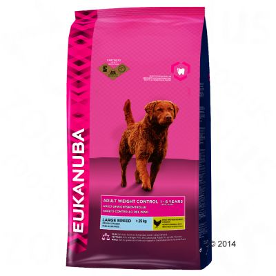 eukanuba-adult-large-breed-weight-control-hondenvoer-15-kg-reuzeverpakking