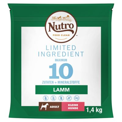 Nutro Limited Ingredient Adult Small Breed Lamb - 1,4 kg