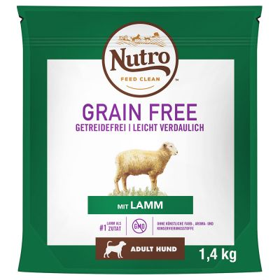 Nutro Grain Free Adult Lamb - 1,4 kg