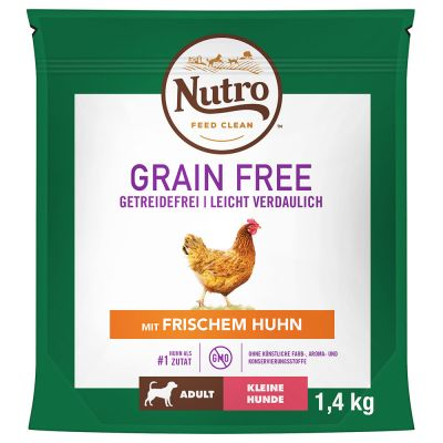 Nutro Grain Free Adult Small Breed Chicken - 1,4 kg