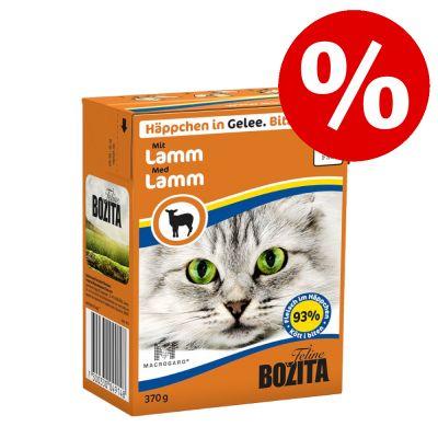 -10 % hinnasta: 6 x 370 g Bozita Chunks in Jelly/Gravy - ankka (Jelly)