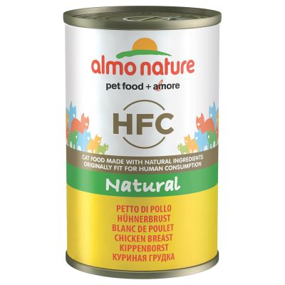 Image of Almo Nature HFC 6 x 140 g - Huhn & Garnelen