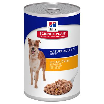 Hill's Science Plan Mature Adult 7+  mit Huhn