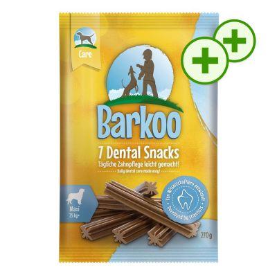2x zooPlusPisteitä: Barkoo Dental Snacks 112 kpl - pienille koirille (1,92 kg)