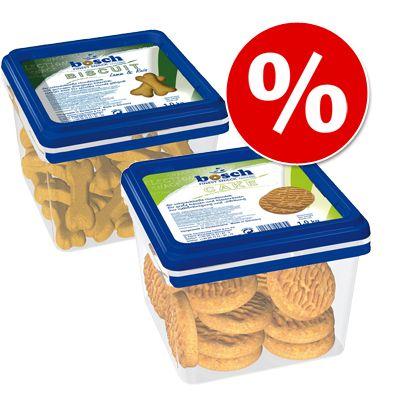 1 kg bosch Biscuit ja 1 kg bosch Cake yhteishintaan! – lajitelma