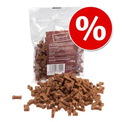 Chewies huesitos semi-húmedos para perros ¡con gran descuento! - Huesitos de cordero (200g)