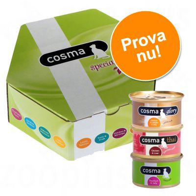 Cosma Gourmetbox Special Edition 14 x 85 g – 14 x 85 g