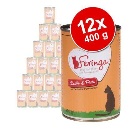 Feringa Classic Meat Menu -säästöpakkaus 12 x 400 g - monta makua: kalalajitelma
