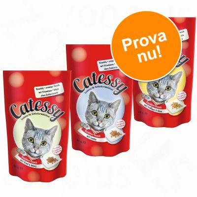 Blandat provpack Catessy Snacks 3 x 65 g – Med 3 olika smakvarianter