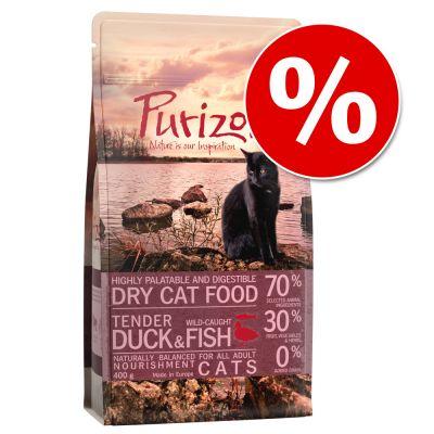 Kokeiluhintaan: Purizon-kuivaruoka 400 g uudet maut - Adult Duck & Fish