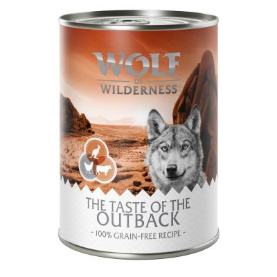 "Wolf of Wilderness ""The Taste Of The Outback"""