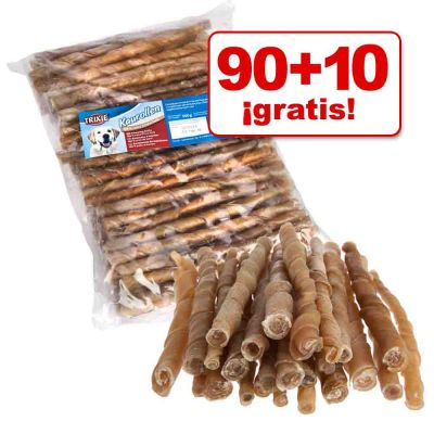 Trixie 100 rollitos masticables para perros en oferta: 90 + 10 ¡gratis! - 100 unidades