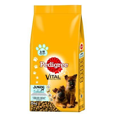 pedigree-junior-maxi-met-kip-rijst-hondenvoer-15-kg