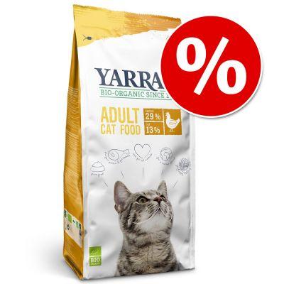 Yarrah pienso ecológico para gato ¡a precio especial! - Con pollo (10 kg)
