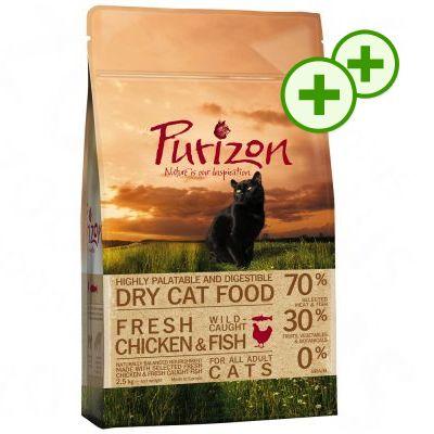 2x zooPlusPisteitä: Purizon kissanruoka 6,5 kg - Adult Lamb & Fish