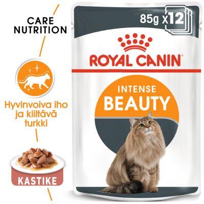 Royal Canin Intense Beauty in Gravy - 12 x 85 g