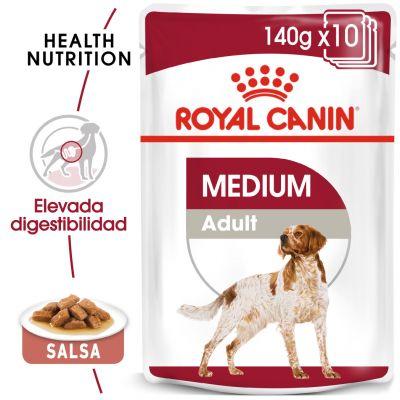 Royal Canin Medium Adult comida húmeda para perros - 40 x 140 g - Megapack