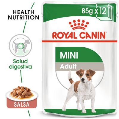 Royal Canin Mini Adult comida húmeda para perros - 48 x 85 g - Megapack