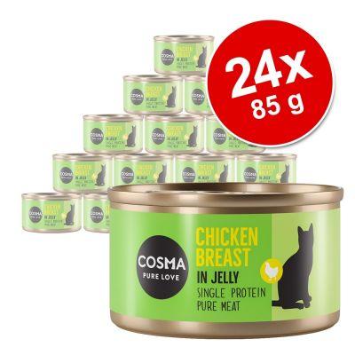 Cosma Original hyytelössä -säästöpakkaus 24 x 85 g - boniitti