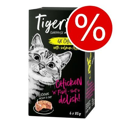 Extra lågt pris! Tigeria 24 x 85 g - Nötkött med tomatsås