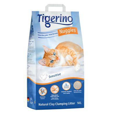 Tigerino Nuggies Ultra Katzenstreu - Sensitive (parfümfrei)