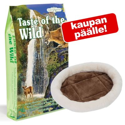 7 kg Taste of the Wild + Fluffy 2in1 -lemmikinpeti kaupan päälle! - Rocky Mountain Feline