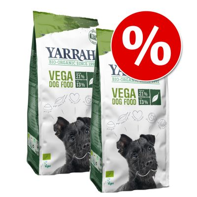 Yarrah Bio -säästöpakkaus - 2 x 10 kg Sensitive Chicken & Rice