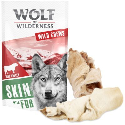 Wolf of Wilderness - karvainen naudannahka - 145 g (noin 3 kpl)