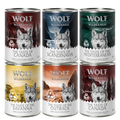 "Wolf of Wilderness Adult ""The Taste Of"" - Mixpaket II"