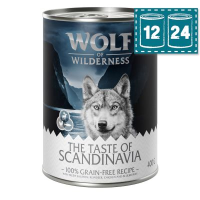 "Sparpaket Wolf of Wilderness ""The Taste of Scandinavia"""