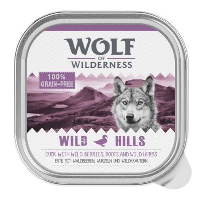 "Wolf of Wilderness Adult Schale ""Wild Hills"" - Ente"