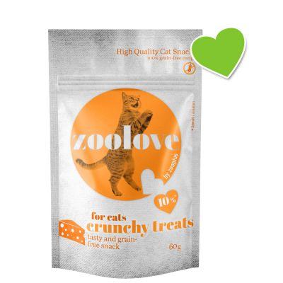 zoolove crunchy treats - juusto - 60 g