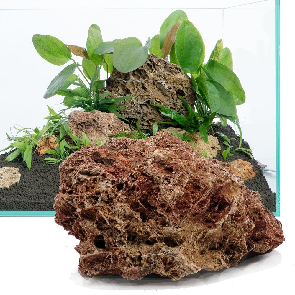 feuilles p trifi es kit 60 cm 9 pierres naturelles achats aquariophiles. Black Bedroom Furniture Sets. Home Design Ideas