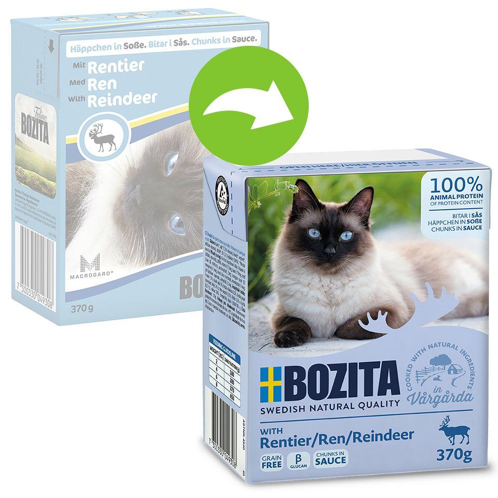 Bozita Häppchen in Soße 6 x 370 g - Rentier