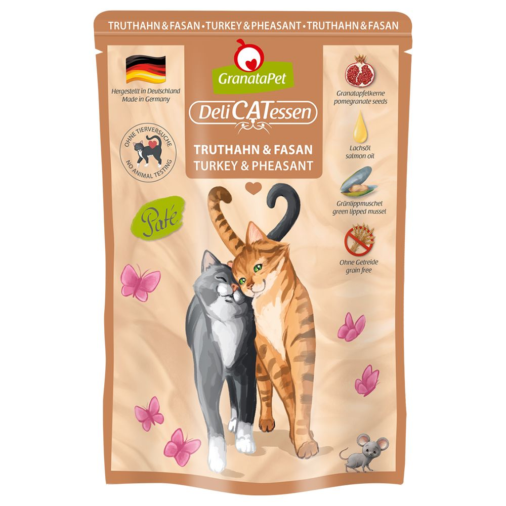 GranataPet Cat DeliCatessen Pouches 6 x 85g