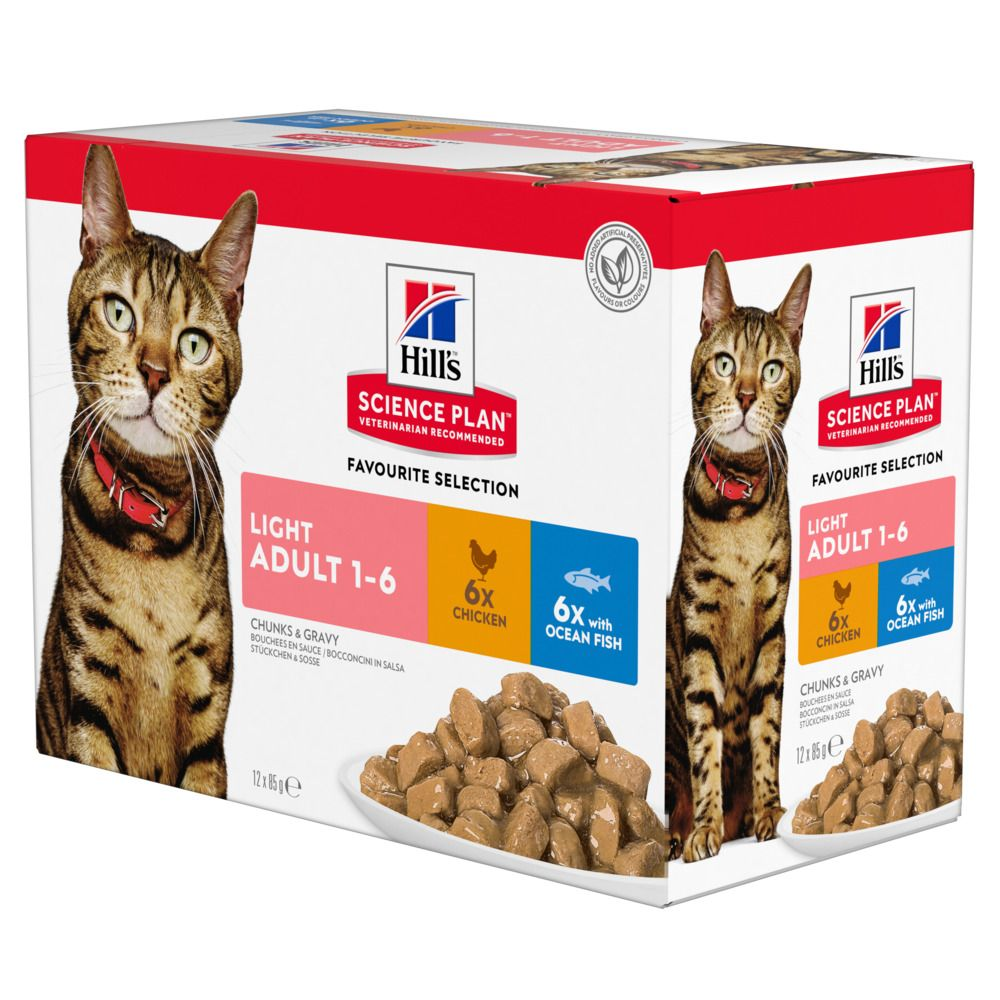 Chicken Adult Light 01-Jun Hill's Science Plan Wet Cat Food